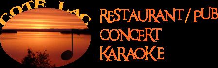 Menu Reveillon De Noel Cora.Restaurant Cote Lac Ollainville Essonne 91 Concerts